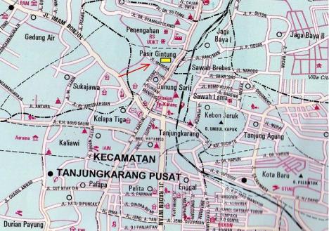 peta_Lokasi Fransita