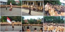 Kegiatan Pramuka Kb Tk Sd Fransiskus 1 Tanjungkarang Bandar Lampung